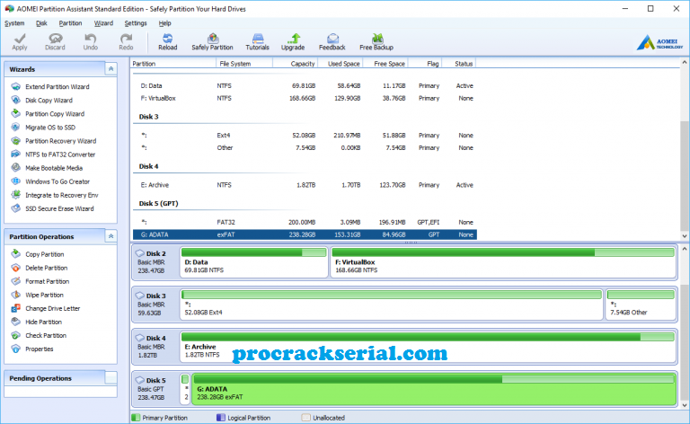 AOMEI Partition Assistant Crack 9.1 + License Key 2021 [Latest]
