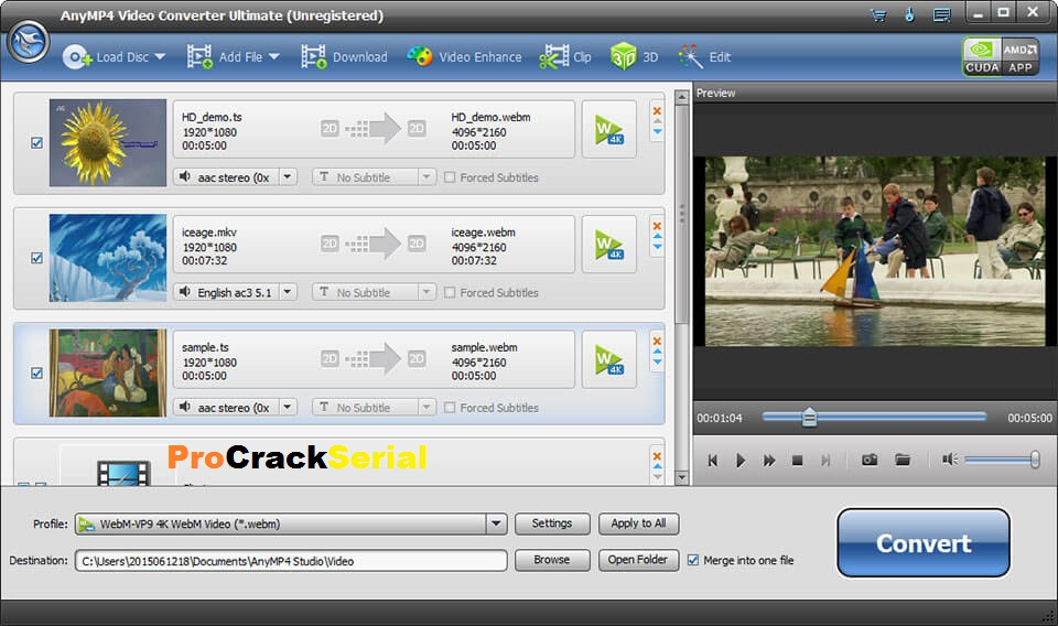 AnyMP4 Video Converter Ultimate Crack 8.1.8 With Key 2021