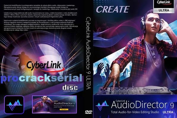CyberLink AudioDirector Ultra Crack 11.0.2304.0 Full [Latest Version] 2021