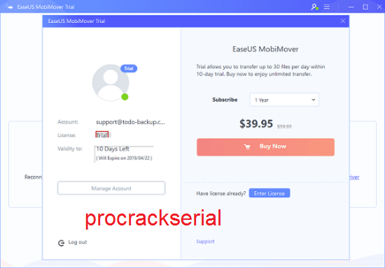 EaseUS MobiMover Crack 7.6 With Serial Key Free Download 2021