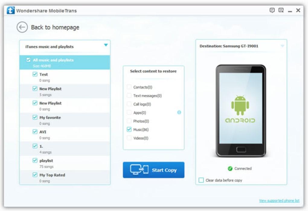 Wondershare MobileTrans Crack 8.1.0 With Registration Code [Latest]