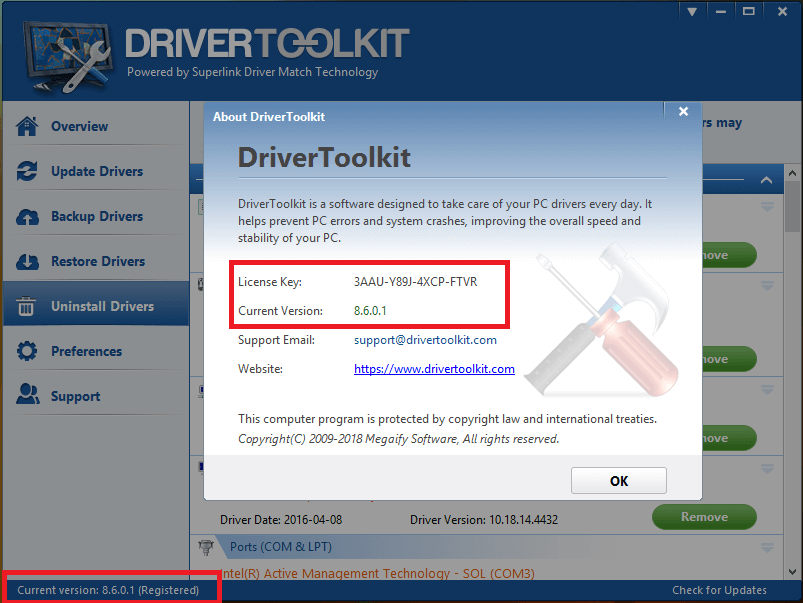 Driver Toolkit Crack 8.9 With Product Key [Latest] 2021