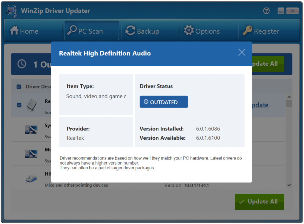 WinZip Driver Updater Crack 5.36.0.18 With Serial Key 2021