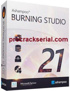 Ashampoo Burning Studio Crack 22.0.8 & Activation Key [Latest] 2021