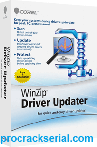 WinZip Driver Updater Crack 5.36.2.18 & Serial Key [Latest] 2021
