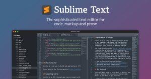 Sublime Text Crack 4107 & Activation Key [Latest] 2021