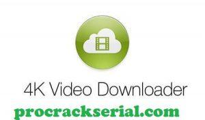 4k Video Downloader Crack 4.16.5.4310 & Registration Key [Latest] 2021