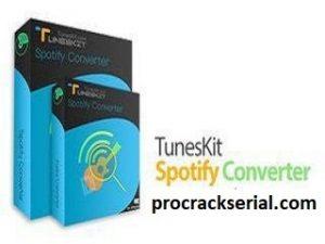TunesKit Spotify Music Converter Crack 2.6.0.740 & Serial Key [Latest]